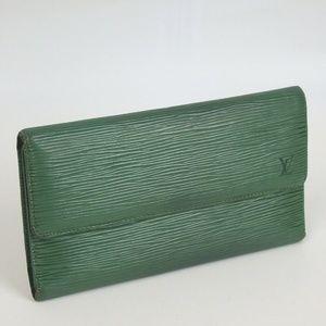 LOUIS V Epi porte tresor international wallet long